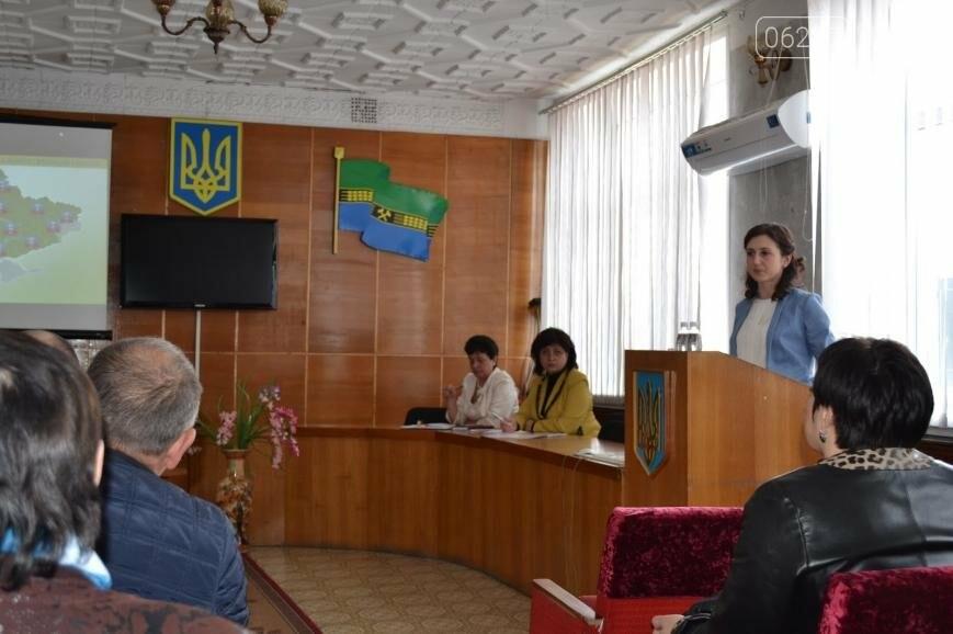 Директор департамента ДонОГА рассказала, как объединять Добропольскую громаду, фото-2