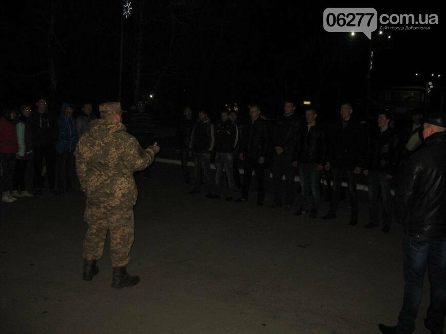 Семеро призывников из Доброполья сегодня отправились на службу, фото-2