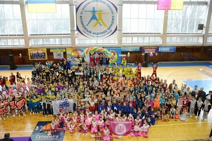 Черлидеры Доброполья – призеры Чемпионата Украины, фото-1