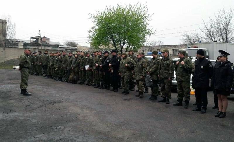 Добропольское отделение полиции подняли по тревоге, фото-3
