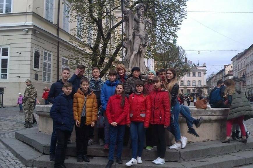 Школьники Добропольского района встретили Пасху в семьях львовян, фото-1