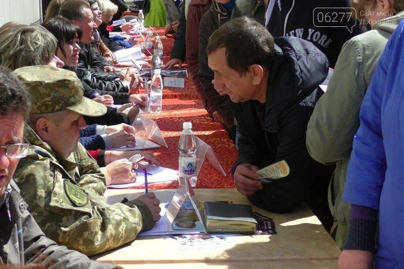На ярмарке вакансий в Доброполье 55 человек получили направление на работу , фото-5