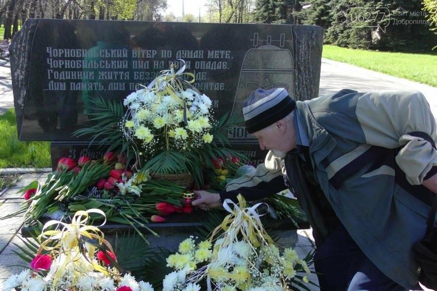 В Доброполье прошли митинги в память о жертвах Чернобыльской катастрофы , фото-6