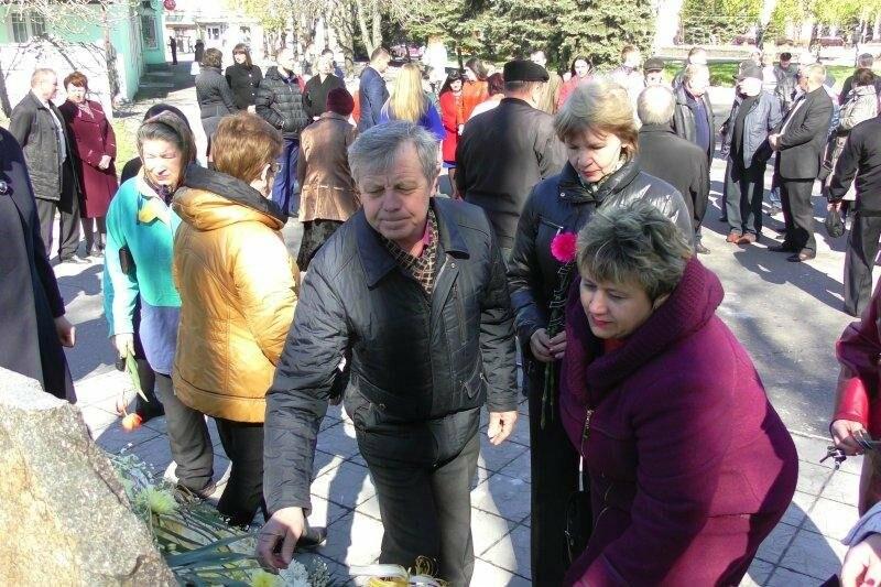 В Доброполье прошли митинги в память о жертвах Чернобыльской катастрофы , фото-4