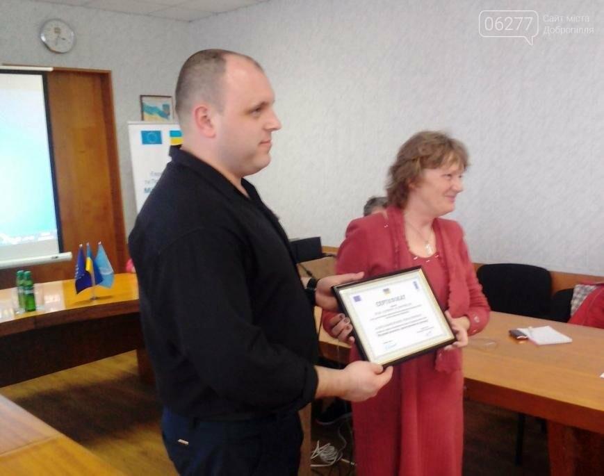 На тренинге добропольским ОСМД рассказали об общественном аудите, фото-1