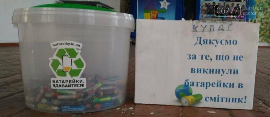 Школы Доброполья присоединились ко Всеукраинской экологической акции, фото-4