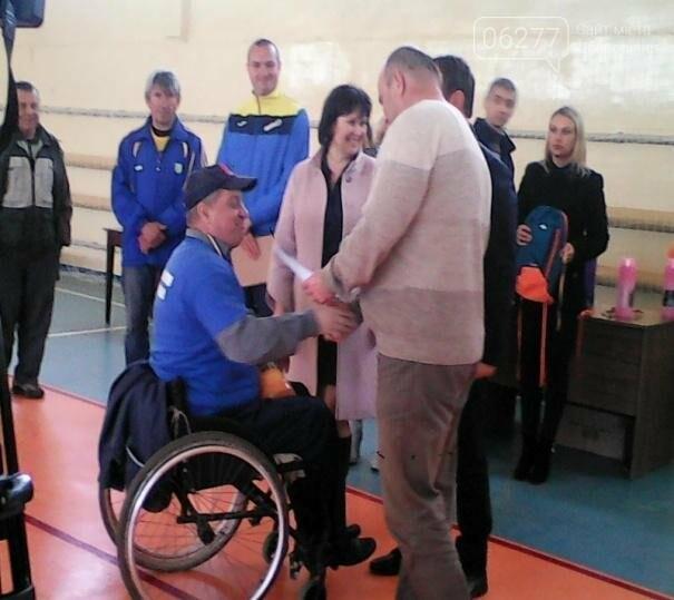 Спортсмены-инвалиды Добропольщины привезли из Покровска золото, серебро и бронзу, фото-1