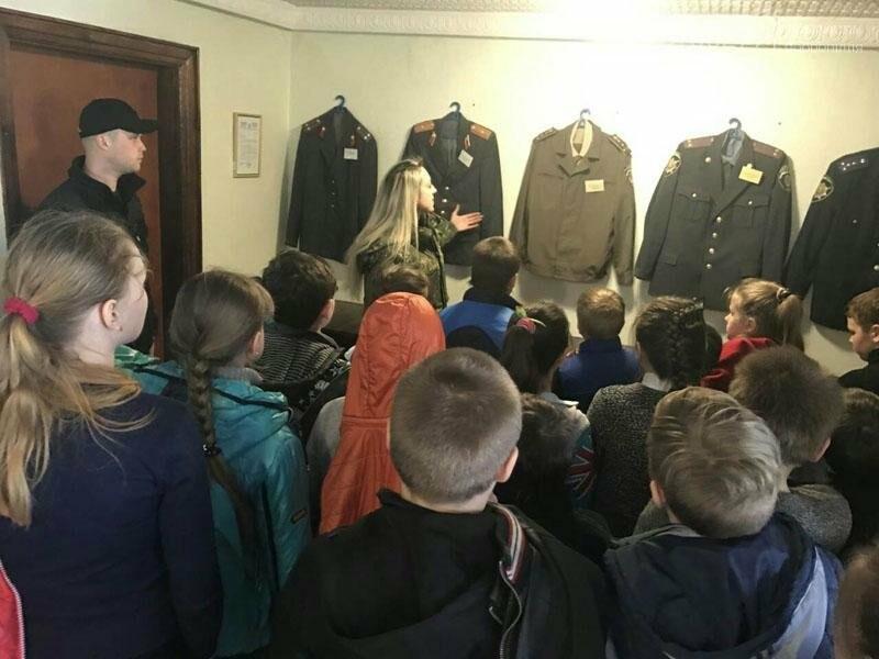 Учащиеся добропольских школ побывали в гостях у полиции, фото-1