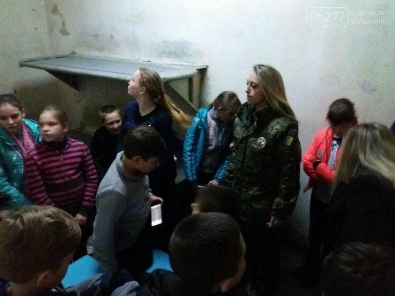 Учащиеся добропольских школ побывали в гостях у полиции, фото-3