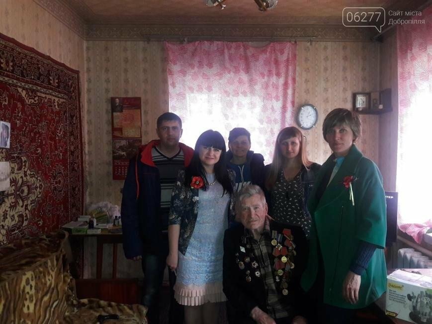 Участники благотворительного автопробега посетили ветеранов 6 сел Добропольского района, фото-6