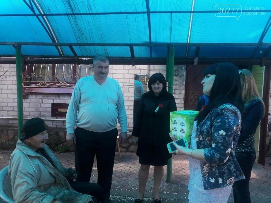 Участники благотворительного автопробега посетили ветеранов 6 сел Добропольского района, фото-7