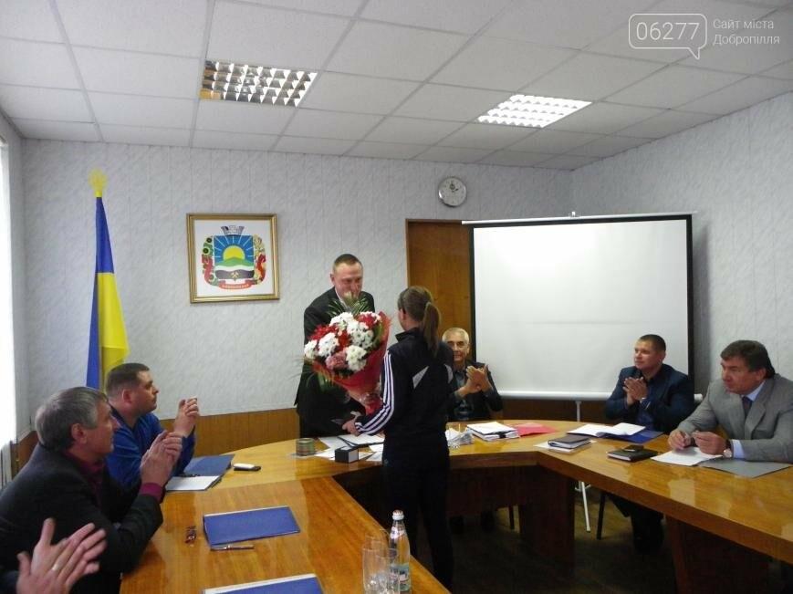 Доброполье отблагодарило своих чемпионов, фото-1