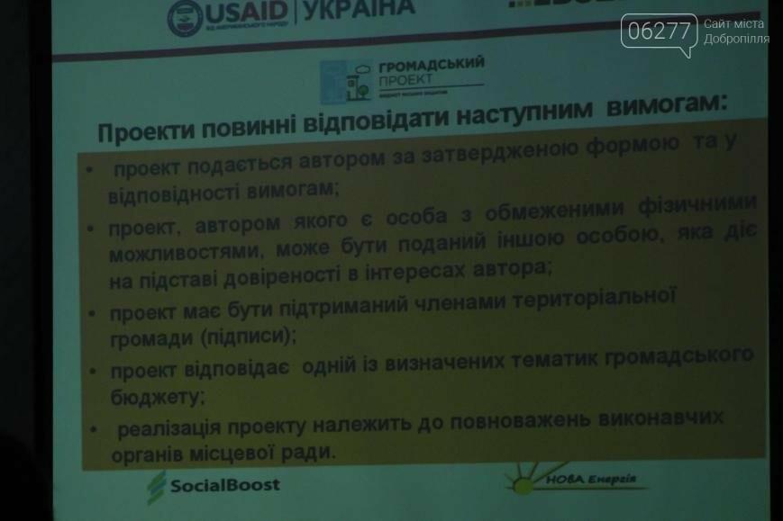 Добропольских общественников учили тратить бюджет участия, фото-3