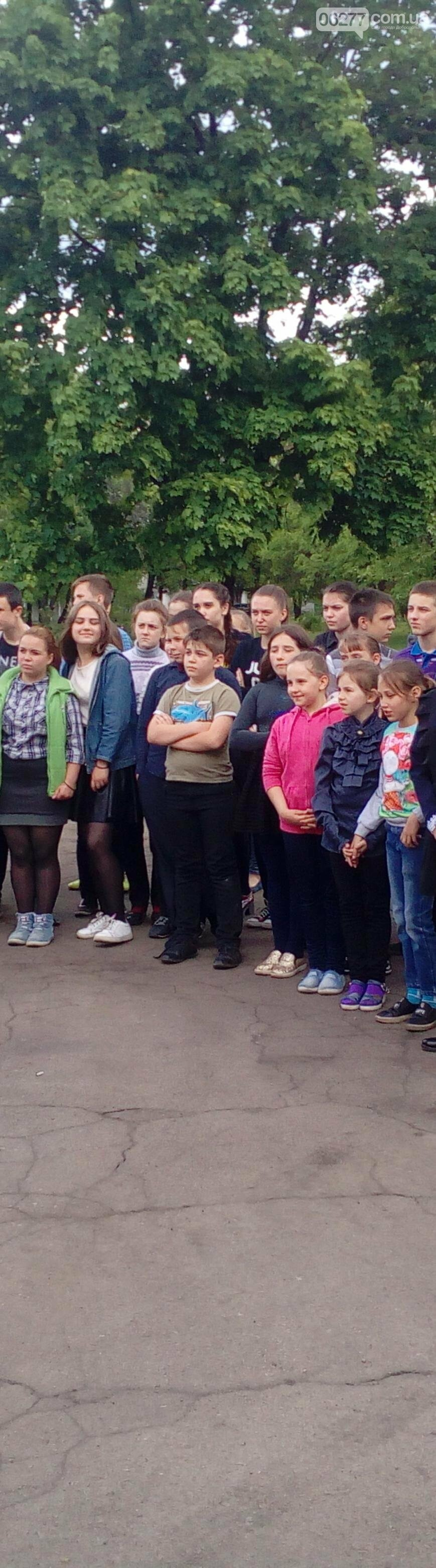 Добропольские спасатели рассказали школьникам о правилах безопасности, фото-7