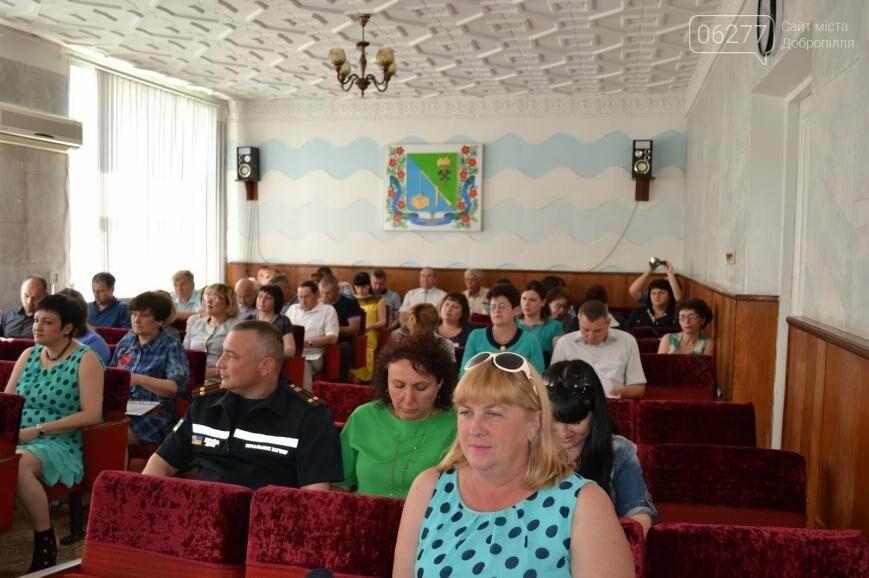 В Добропольском районе состоялась очередная сессия райсовета, фото-1