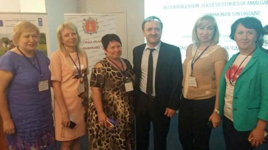 Добропольский район представили на межрегиональной конференции по децентрализации, фото-1