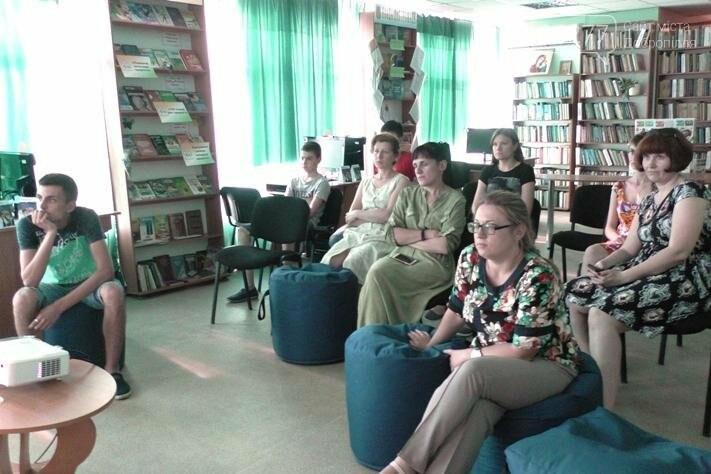 В добропольской центральной библиотеке прошел второй день Фестиваля европейского кино , фото-3