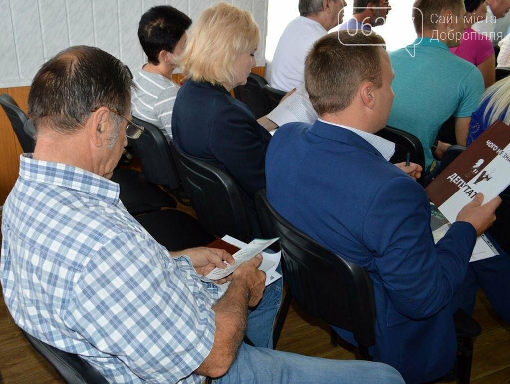В Доброполье состоялся семинар для депутатов, фото-2