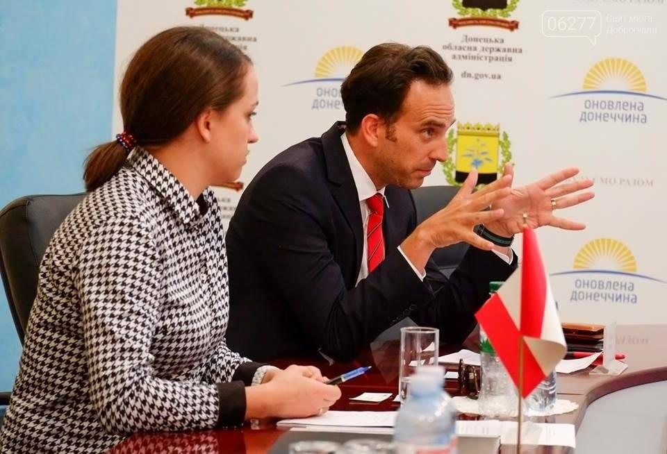 Павел Жебривский провел встречу с делегацией Министерства иностранных дел, фото-2