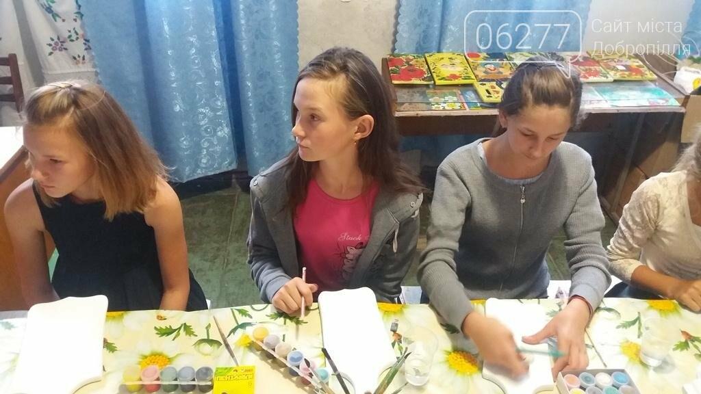 В Доброполье проведен мастер-класс в стиле петриковской росписи , фото-3