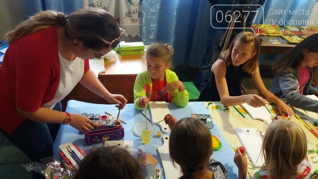 В Доброполье проведен мастер-класс в стиле петриковской росписи , фото-4
