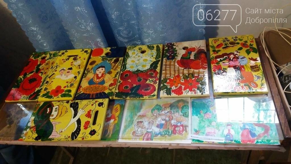 В Доброполье проведен мастер-класс в стиле петриковской росписи , фото-1