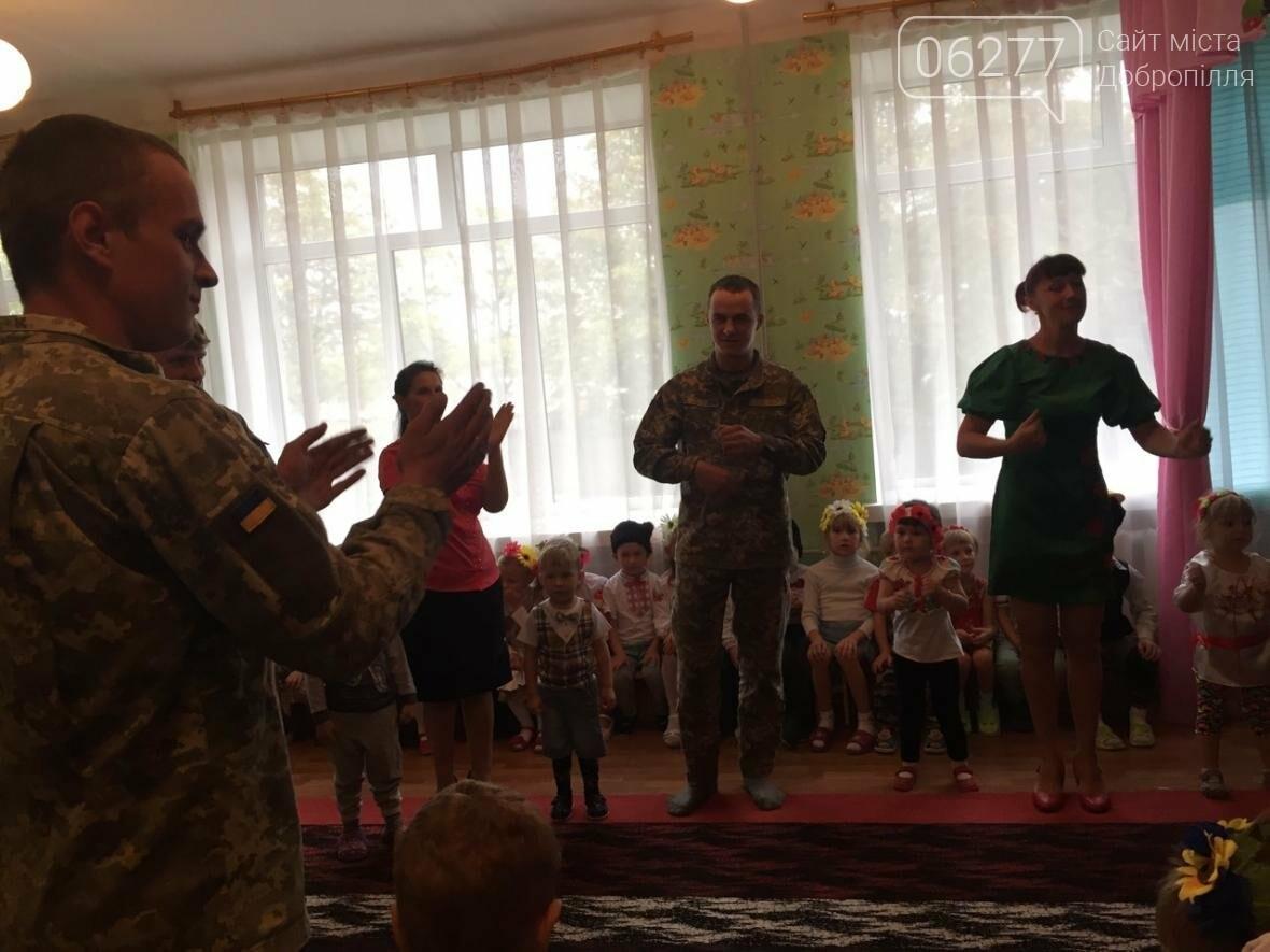 В Добропольском районе дети встретились с военными, фото-4