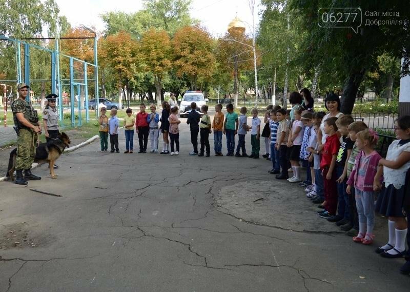 """Для учеников Доброполья правоохранители провели""""Факультатив с полицейским"""", фото-9"""