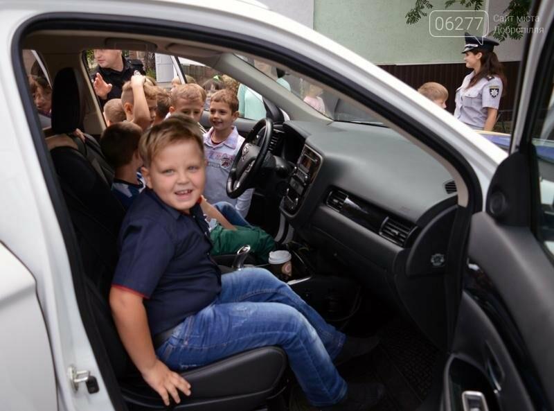 """Для учеников Доброполья правоохранители провели""""Факультатив с полицейским"""", фото-4"""