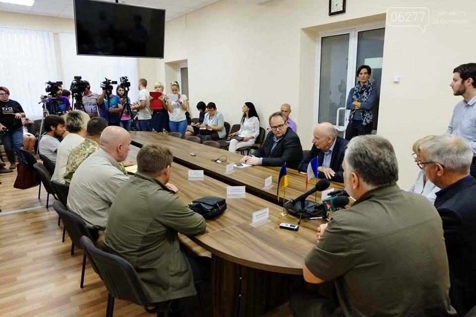 Ситуация на Донбассе: сотрудничество Украины с Францией, фото-1