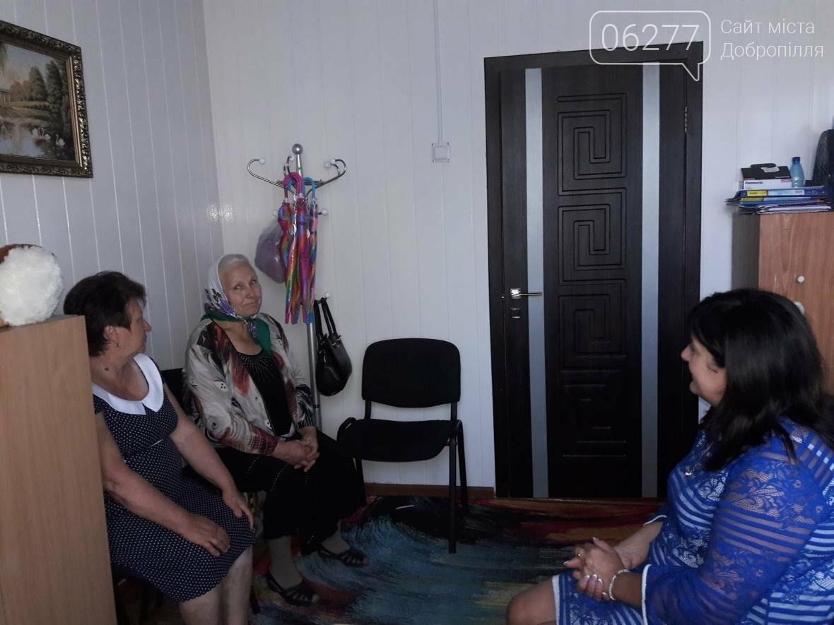 Работники районного совета осуществили рабочий визит к Шаховской общине Добропольского района, фото-10