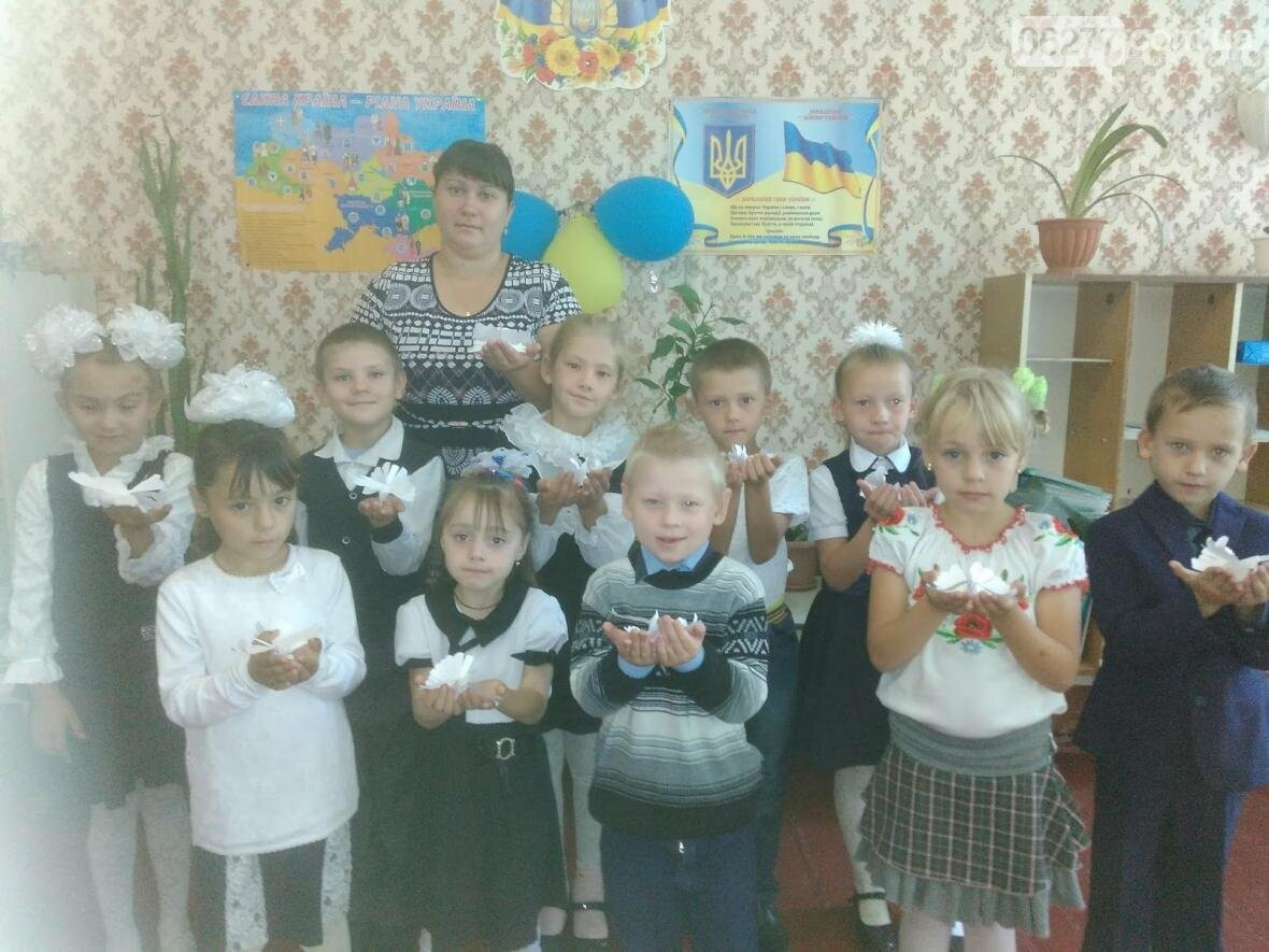 В Шиловской школе  Добропольского района прошел международный день мира, фото-3