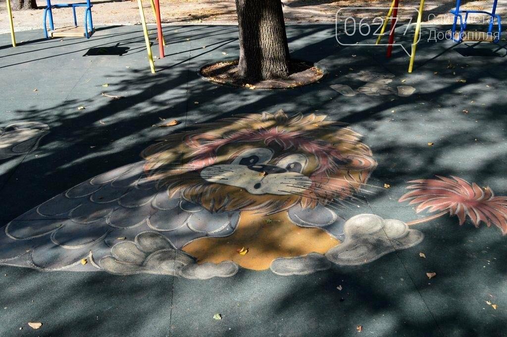 В Доброполье  в городском парке открыли новую детскую площадку, фото-2