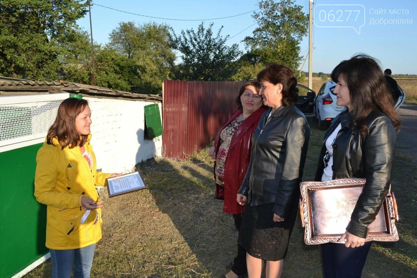 В Добропольском районе  сироте вручили ключи от дома, фото-1