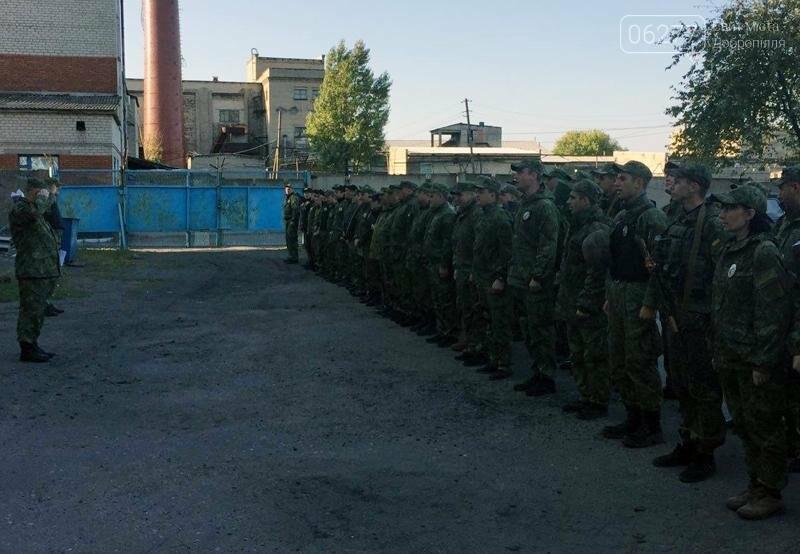 Сегодня руководитель добропольской полиции проверил боеготовность подчиненных, фото-1