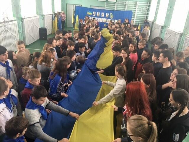 Як минув День Соборності України в освітніх закладах Добропілля, фото-1