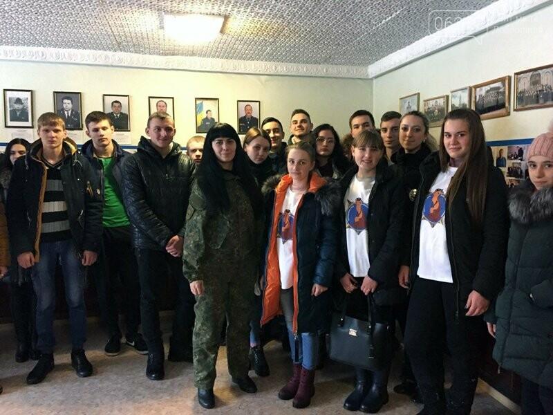 Добропольское отделение полиции открыло двери для будущих абитуриентов вузов системы МВД Украины, фото-4
