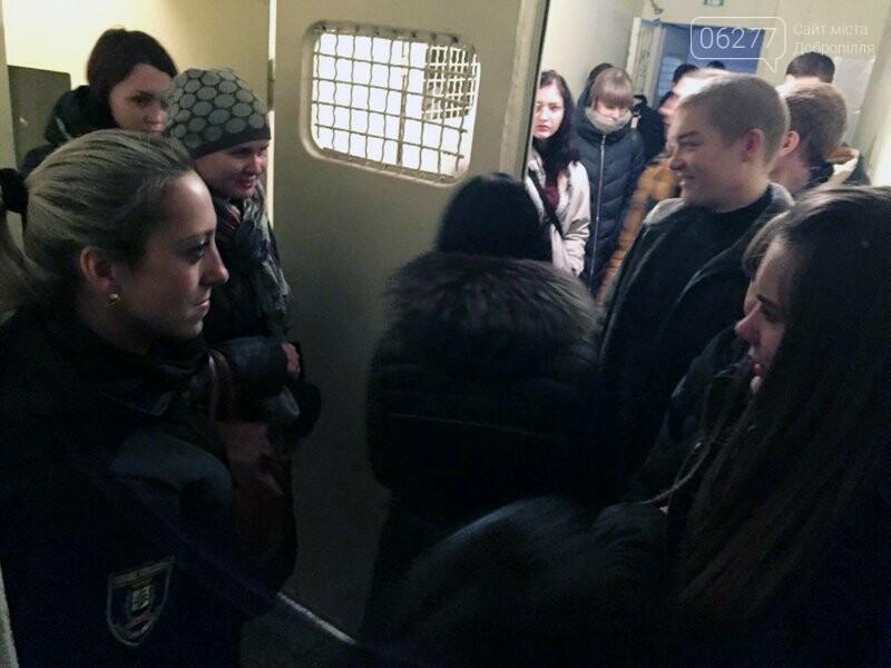 Добропольское отделение полиции открыло двери для будущих абитуриентов вузов системы МВД Украины, фото-1