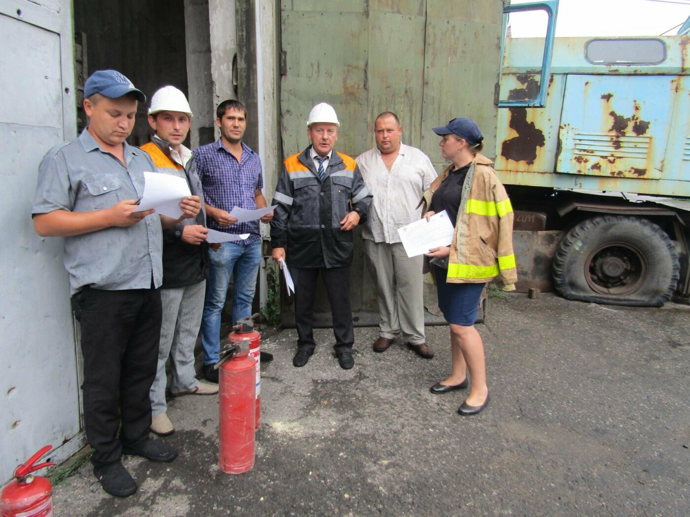 У Добропіллі рятувальники провели тактико-спеціальні навчання з ліквідації умовної пожежі, фото-2