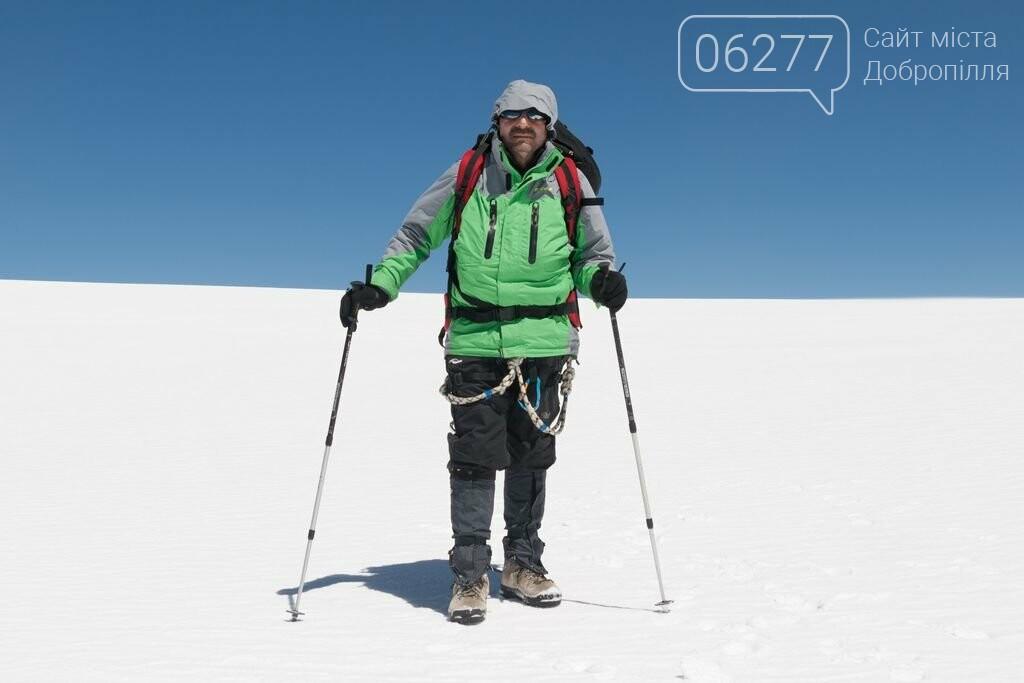 Шахтер-альпинист из Белозерского покорил Казбек, фото-1