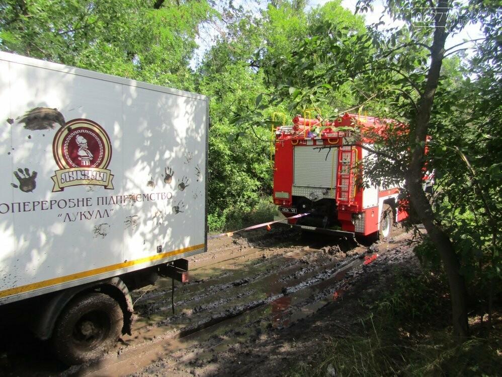 В Добропольском районе спасатели оказали помощь водителю, фото-1