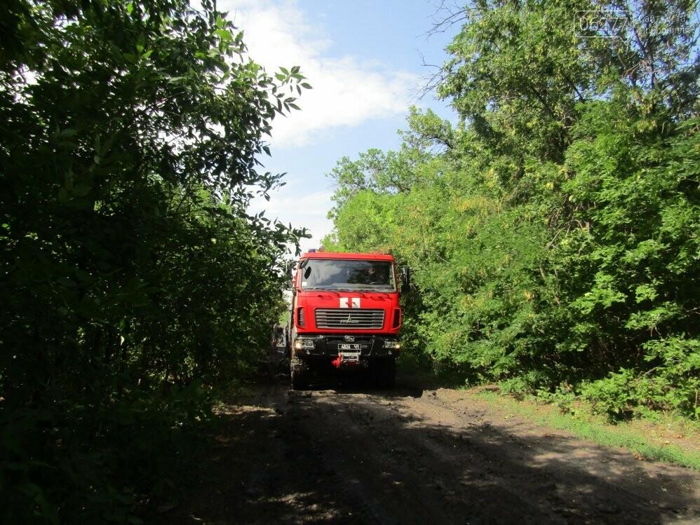 В Добропольском районе спасатели оказали помощь водителю, фото-4