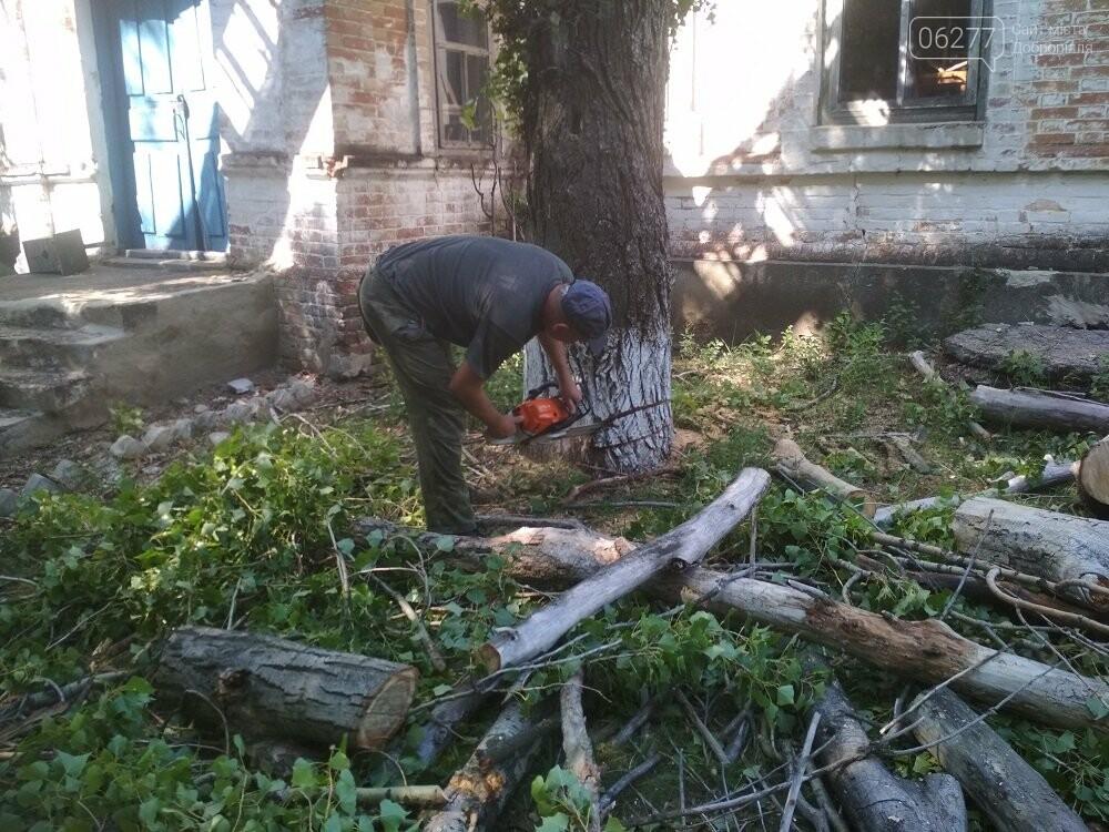 У Добропільському районі рятувальники надали допомогу місцевим органам влади, фото-4