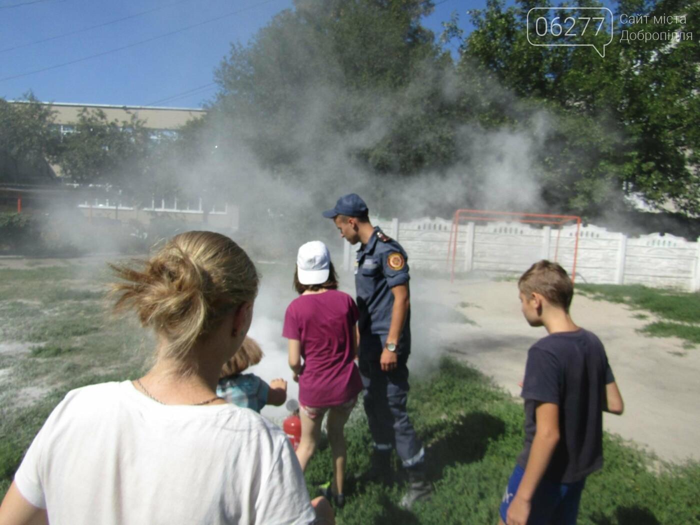 Рятувальники завітали до Центру соціально-психологічної реабілітації дітей Добропільської міської ради, фото-1