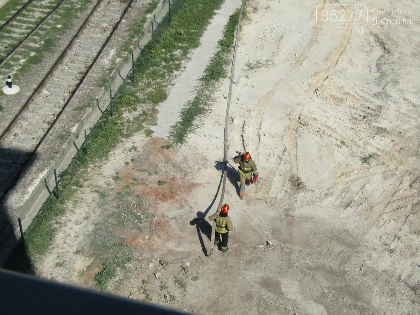 Рятувальники Добропілля ліквідували умовну пожежу, фото-3
