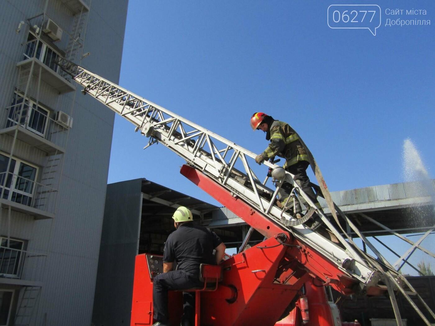 Рятувальники Добропілля ліквідували умовну пожежу, фото-2