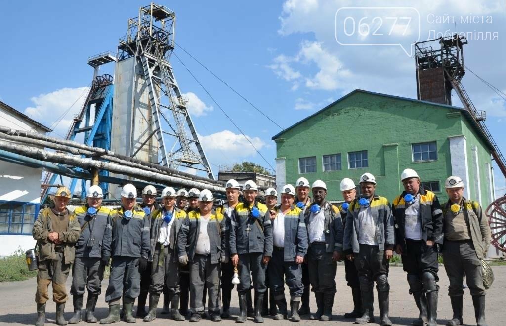 Лава с запасами 920 тыс. тонн угля - хороший подарок ко Дню Независимости от шахтеров Добропольской, фото-1