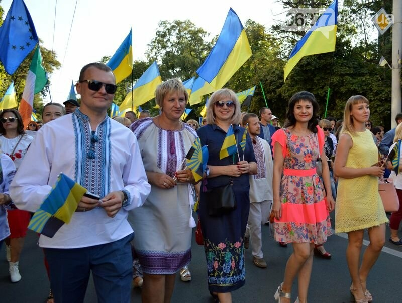 Делегація Добропілля на святкуванні Дня Незалежності у Краматорську, фото-1