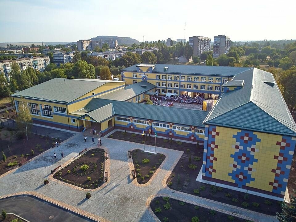 В Добропіллі запрацювала капітально відремонтована опорна школа, фото-29
