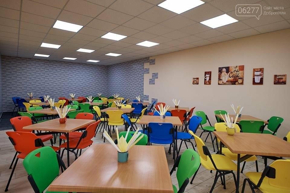 В Добропіллі запрацювала капітально відремонтована опорна школа, фото-15